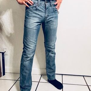 Authentic Distressed Men's LEVI'S Skinny 511 Jeans